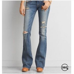 American Eagle Artist Stretch Flare Jeans